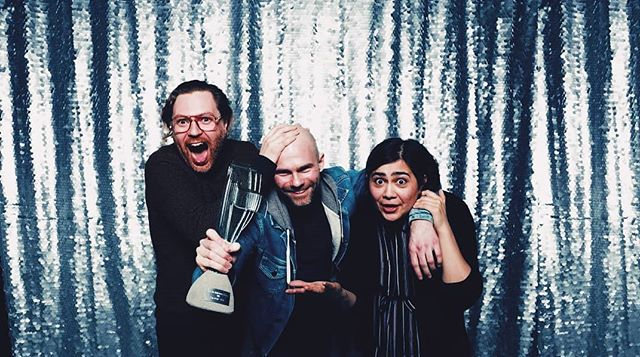 Happy! We won best rock song at the Icelandic Music Awards for our song Another Little Storm 🌟 https://youtu.be/bhogTzvChPw