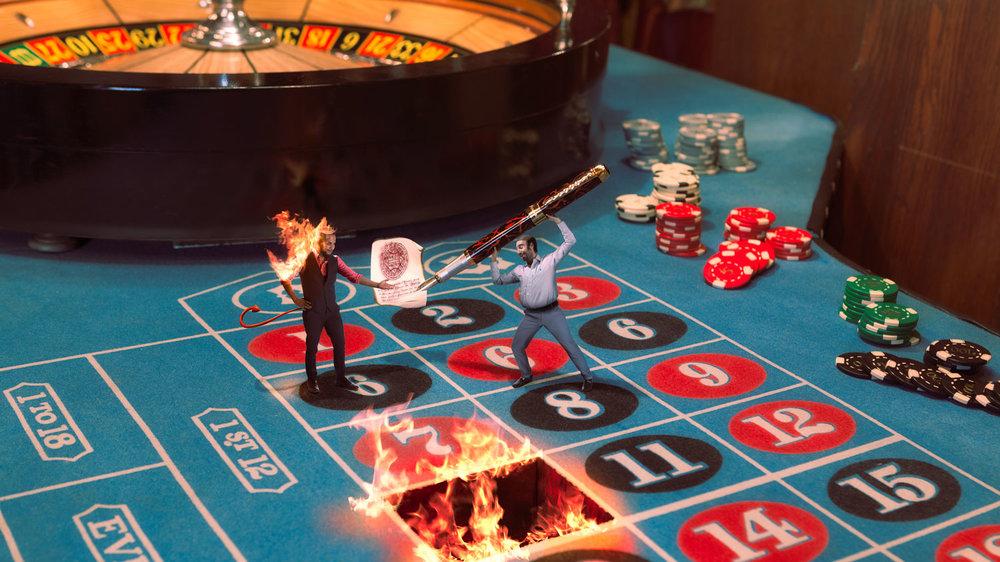 An odd Gamble