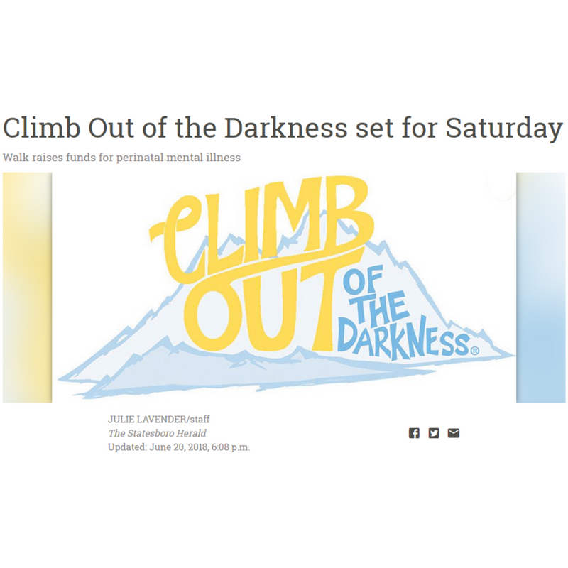 Climb Out of the Darkness set for Saturday