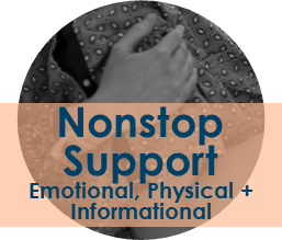 Copy of Nonstop Emotional, Physical + Informational Support