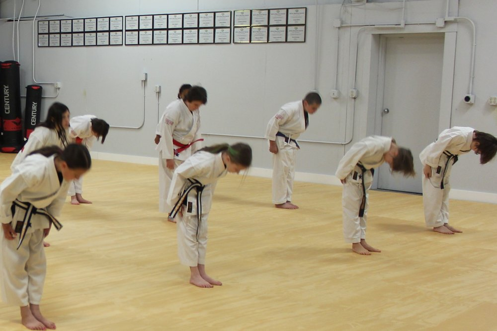 - *Puberty creates a vast difference in physical size and shape between teenagers because each teen develops at their own body's pace. With this, many teenagers shy away from most sports due to their competitive nature.At White Mountain Karate, we train non-competitively, therefore, each person learns and moves at their own pace. This environment will allow the teen to focus purely on their own improvement and development. As they continue to train and improve, it will help boost their self-confidence.