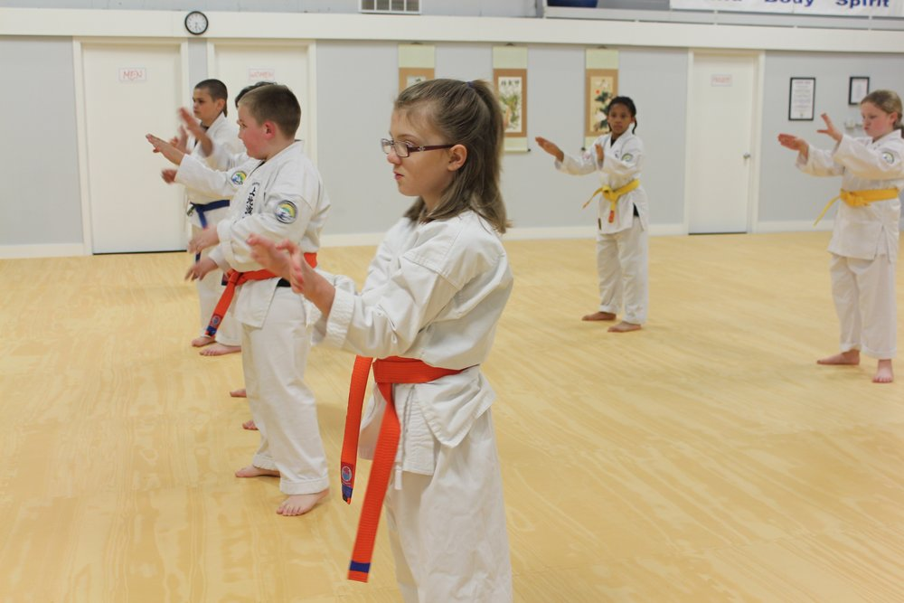 - * Many teens feel very self-conscious about the changes occurring in their body. So they will avoid any activity where they will have an audience or spectators.Being non-competitive, the sidelines of a karate class are not full of cheering parents. While a few parents choose to watch, many drop their children off. This gives the teen a more comfortable feeling of no one watching from the sidelines.