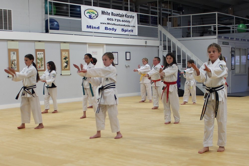 "- * Teens spend a great deal of time comparing themselves to others, whether it is body shape or clothes.  Most teens will develop an opinion of someone simply by seeing clothes (the brands or style) they wear. They also use their own choice of clothing to define who they are to others.At White Mountain Karate, we focus on developing character, and taking the clothing image away.  The ""gi"" (karate uniform) takes away the clothing identity and puts everyone on the same level.  Therefore, the only way to judge anyone is on character identity.  We focus heavily on developing strong character traits and by doing so, help build confidence in our young adults.  Having confidence will help them in so many areas of life, including meeting new people, to a first job interview, to presenting in front of their class."