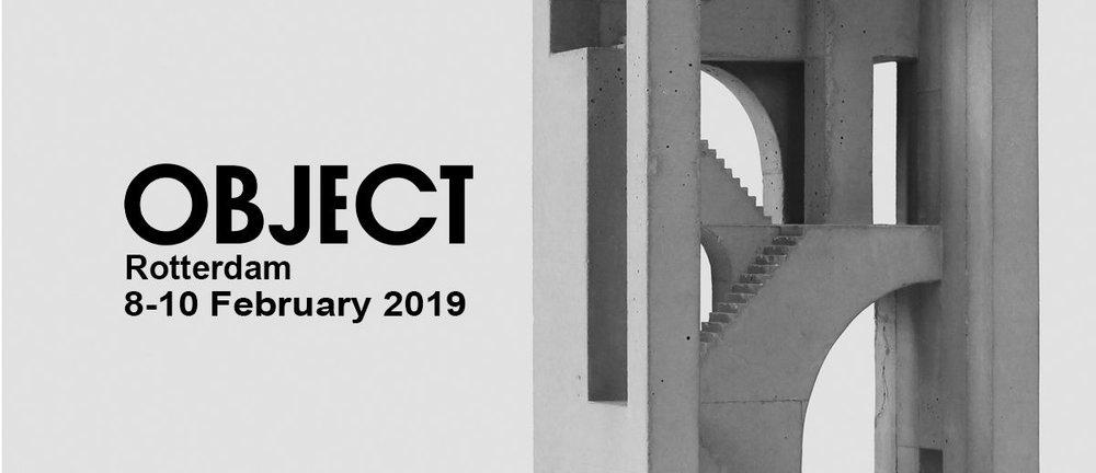 OBJECT DESIGN FAIR ROTTERDAM  presenting new work by David Umemoto  From Februari 08 to Februari 10  read more here