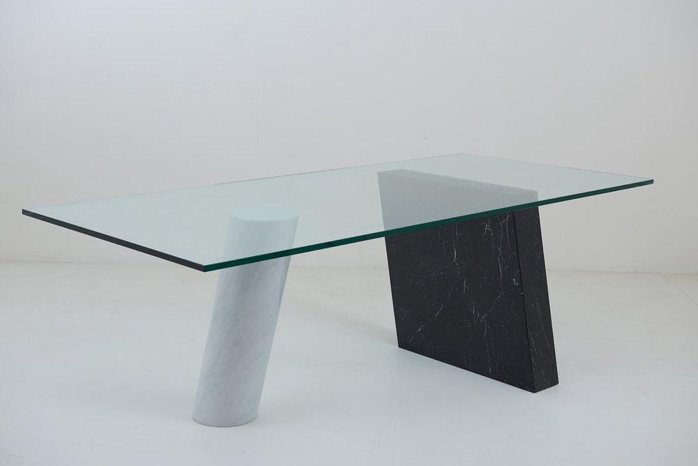 """1983 Massimo & Lella Vignelli """"Pisa"""" desk"""