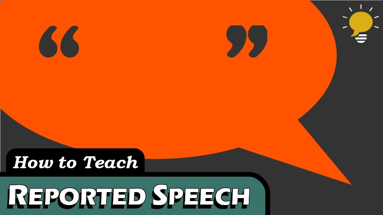 Reported Speech - In spoken English, reported speech conveys the meaning of an earlier quote within a new context. Here are 3 steps to go from direct speech to reported speech.
