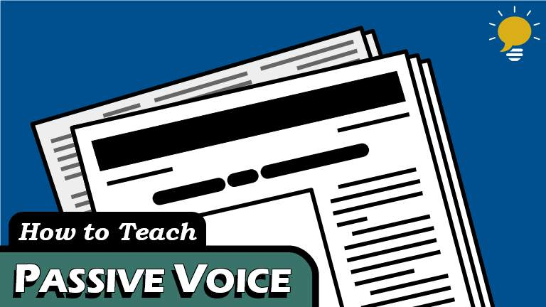 Passive Voice - An introduction to the Passive Voice structure, including why we use it, how we use it, and topics that tend to use it. Learn how to turn an active sentence into a passive one in 4 easy steps.