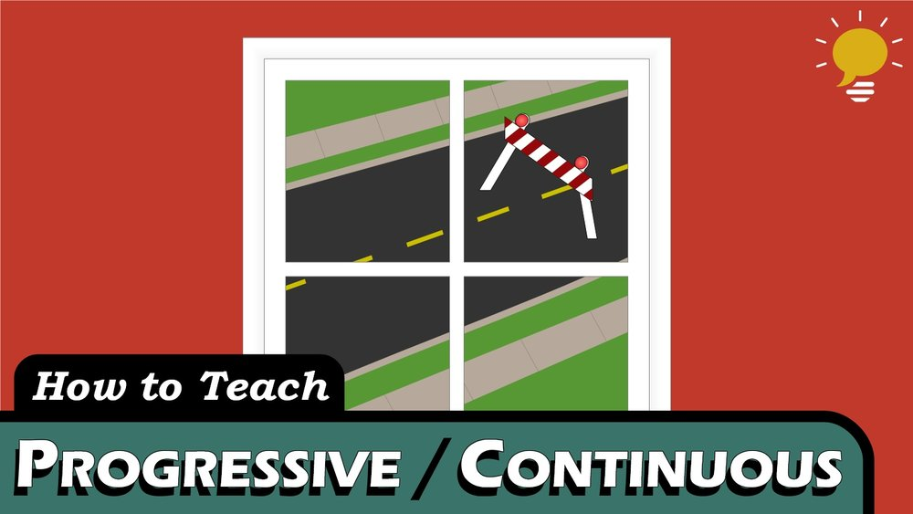 Progressive / Continuous Tenses - We use Progressive Continuous tenses for temporary verbs that are not finished yet.  This covers Past, Present, and Future.