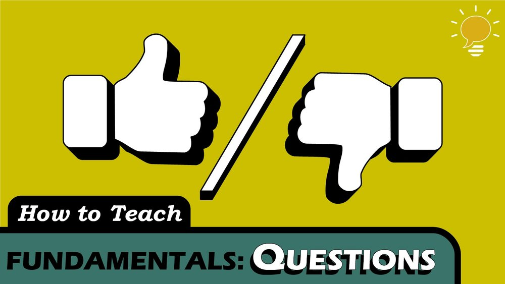 Yes/No Questions and Short Answers - Instead of creating yes/no questions from scratch, learners should take affirmative sentences and alter them. It only takes 1 step!