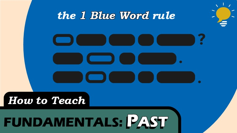 Past Basic - Making a verb phrase past might depend on the sentence structure. But there's a trick to remembering what the final sentence should look like. This applies to all past tenses.