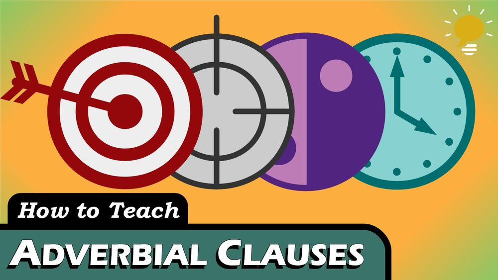 Adverbial Clauses - Time Clauses, Clauses of Purpose and Result, Concession Clauses, Condition Clauses, and all the rest have a lot in common with Prepositional Phrases!