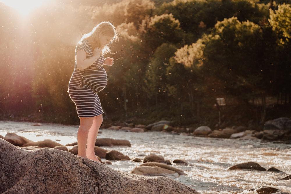 Élisabeth lors de sa deuxième grossesse. -Olivier Lachance