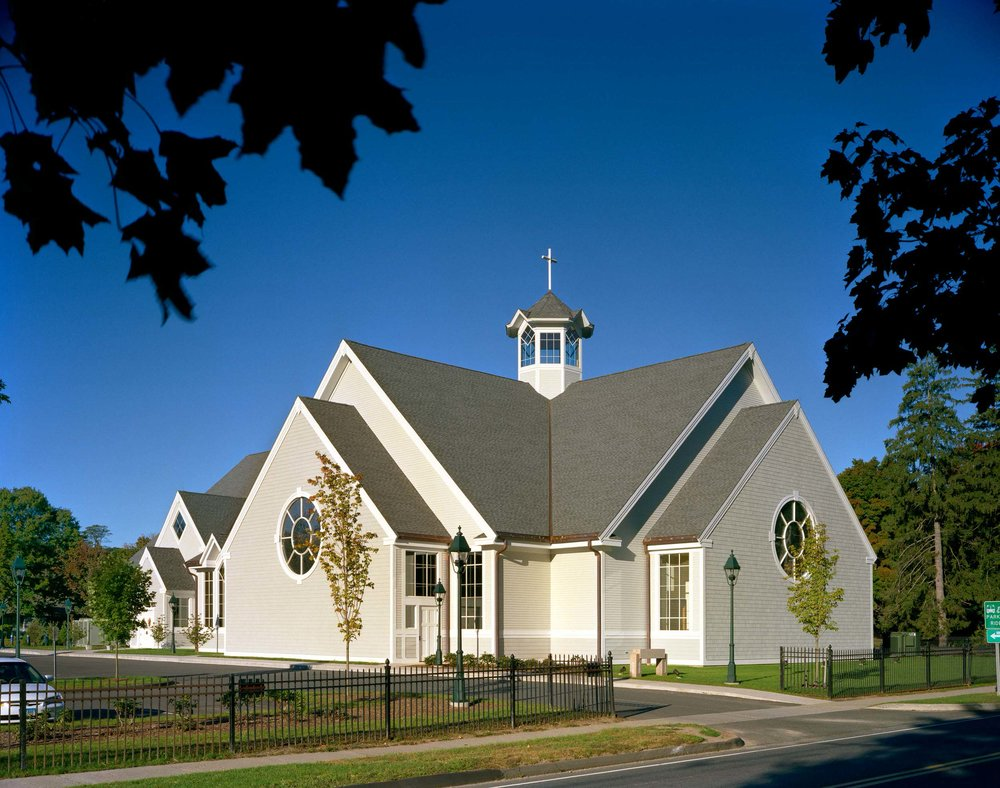 Church of St. Mary - New Church and Parish Center