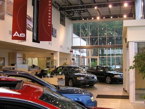 Retail Gallery Clohessy Harris Kaiser LLC - Audi new london
