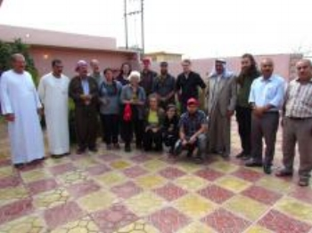 CPT Iraqi Kurdistan Delegation visits Ezidi   shrine at Lalish