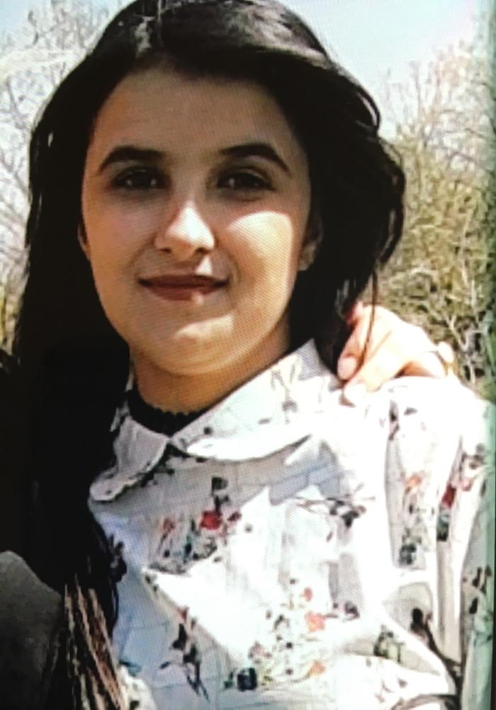 Photo of the ninteen year old Dunya Rasheed.