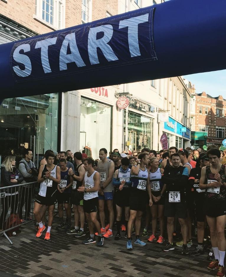 RBK half marathon Oct 2018