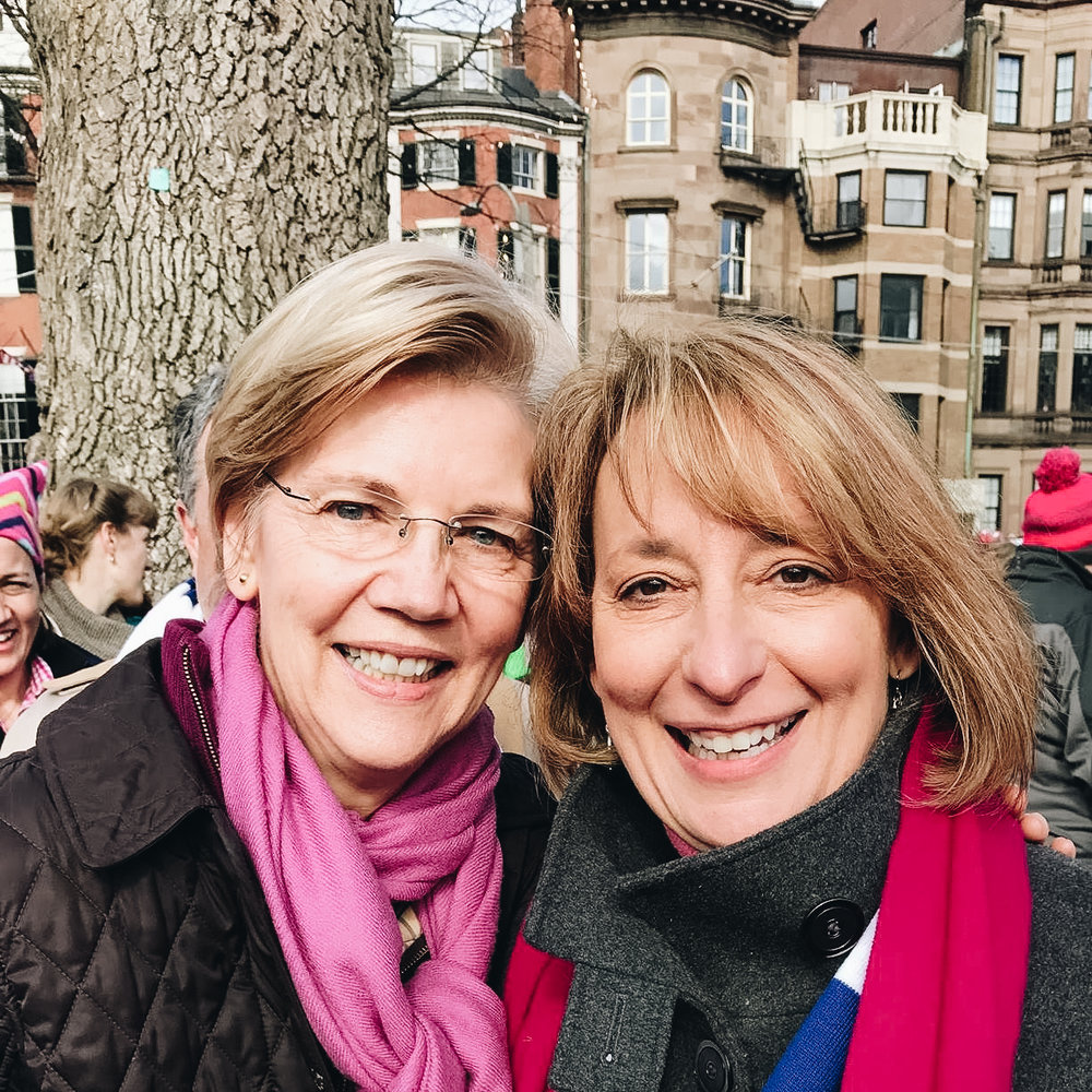 Rep. Ehrlich with U.S. Senator Elizabeth Warren
