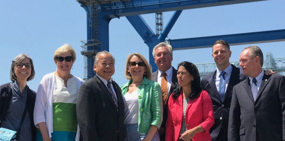 The Joint Committee on Export Development visits Massport