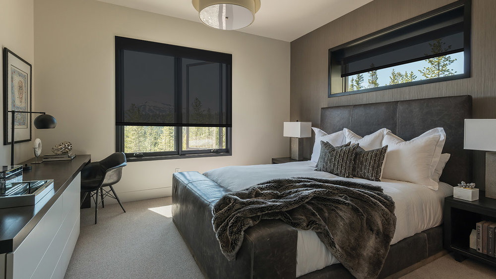 Although filled head to toe with technology - audio, video, security, automated lighting and shades – there is no clutter. The only visible signs of technology are well-placed keypads, decorative LED fixtures, thoughtfully placed down lights, and mid-day, down-positioned shades.  Read More