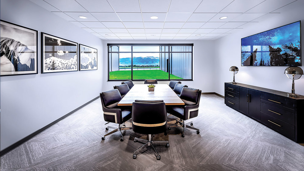 Conference Room: VoIP Phone System, Video Conferencing, Structured Cabling, 4k Digital Media Control...
