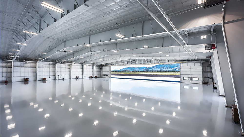 A superb example of one of our commercial projects: the largest private hangar in the state.  We not only networked this impressive jet center, we custom installed high-level security and video surveillance with access control throughout, including 360° field of view cameras in the hangars and pan-tilt-zooms on the exterior with full analytics and motion tracking. Strategic AV solutions were integrated throughout the reception, lounge and crew lounge, and we equipped them with a VoIP phone system and a conference room with client supplied video conferencing.