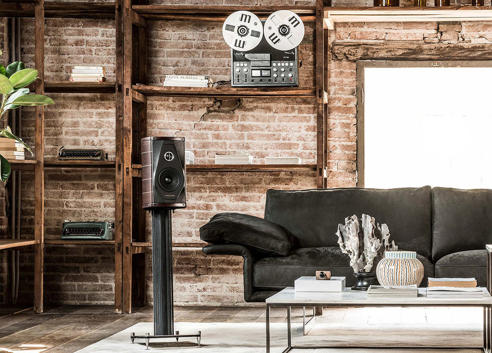 Audio Systems - You don't just hear the music, you feel it! Enjoy your favorite music in one room or throughout your entire space. From simple background music systems to dedicated high performance listening rooms, our team will put you in control and help enhance your music listening experience.Pictured: Sonus Faber Olympica I