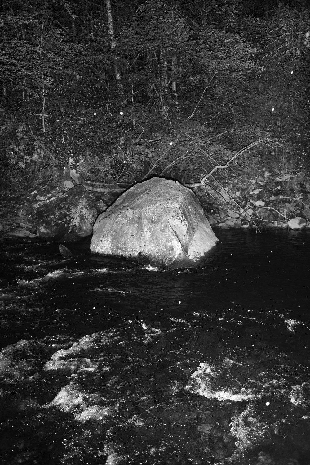 Untitled (Cranberry River, WV) , 2017