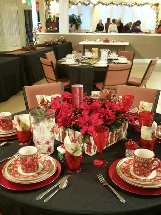 Have pretty tables, with fancy settings and take-away table-gifts, so young ladies who may never have had an elegant dining experience will know they are worthy and deserving of festive and special treatment.