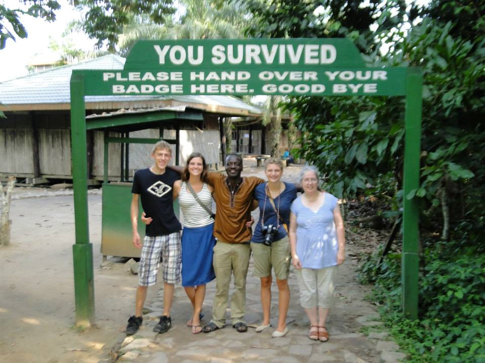 The  Kakum National Park  and the hike up to the Canopy Walk high over the rainforest is a very popular destination in the Central Region, near Cape Coast and the slave castle which can also be toured.