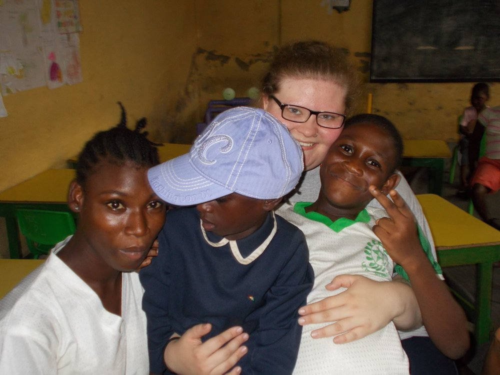 Paula, from Tennessee, spent a few months with Point Hope Ghana working with children with special needs.