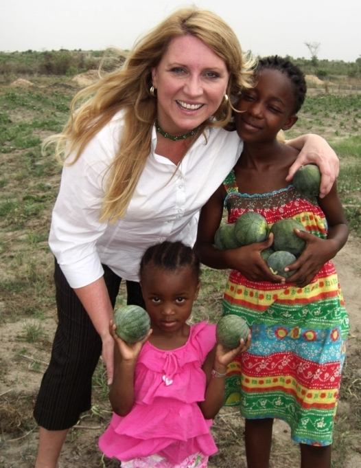 Delilah on one of her earliest trips to Ghana, found mothers in need of clean water, land with potential for farming, abandoned children starving for food and attention, and beautiful souls looking for hope.