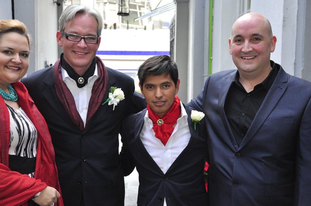 Joseph + Eduardo's Wedding in Mexico City