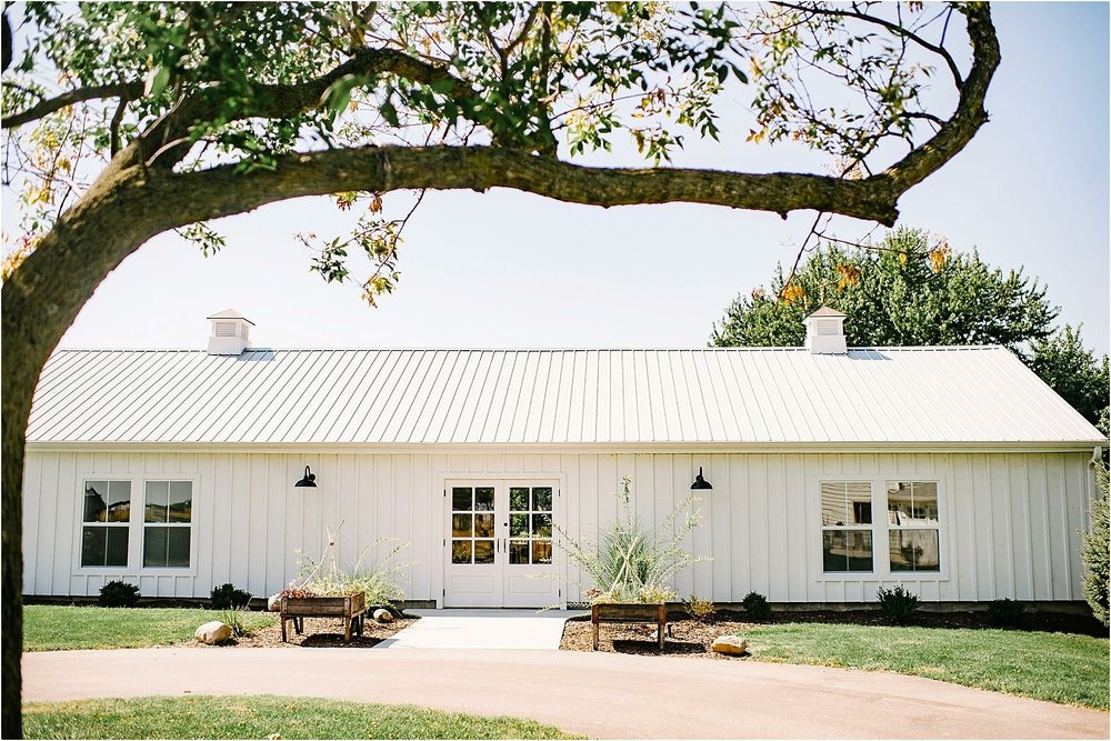 White Barn at Farmin' Betty's