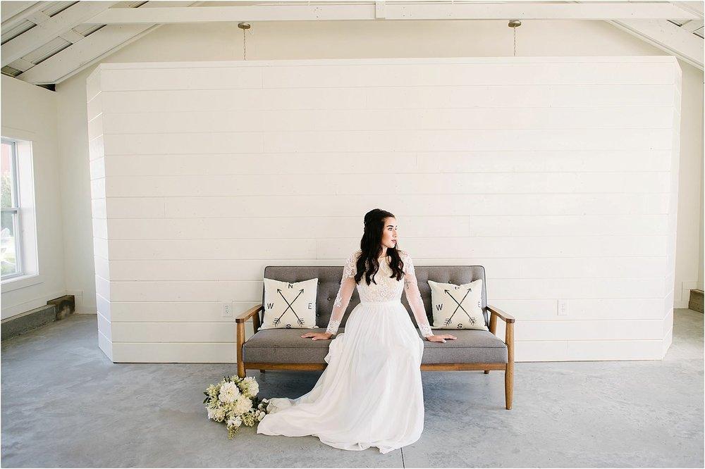 Bohemian Bride style at Farmin' Betty's