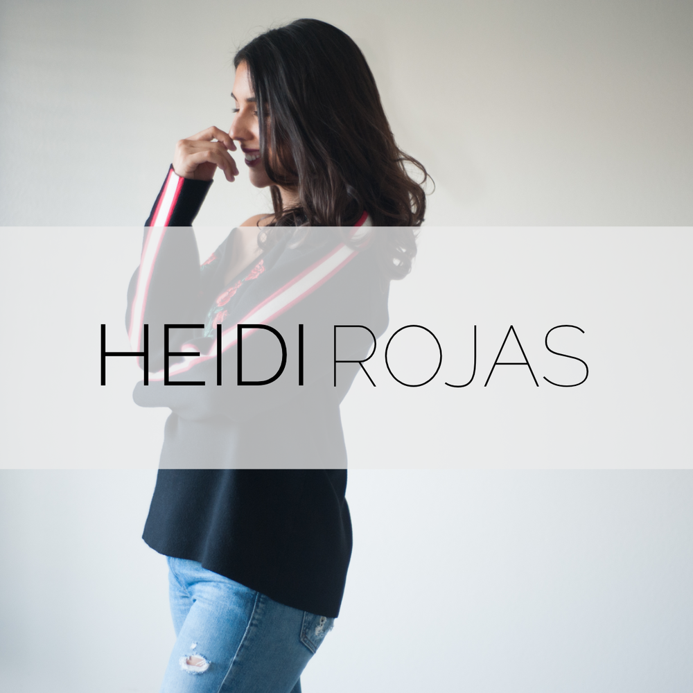 Heidi Rojas Music Branding + Website + SEO + Photography + Wikipedia