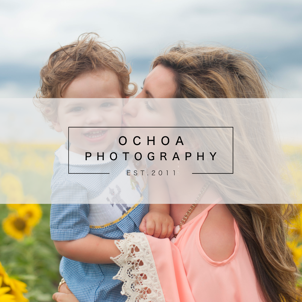 Ochoa Photography Branding + Website
