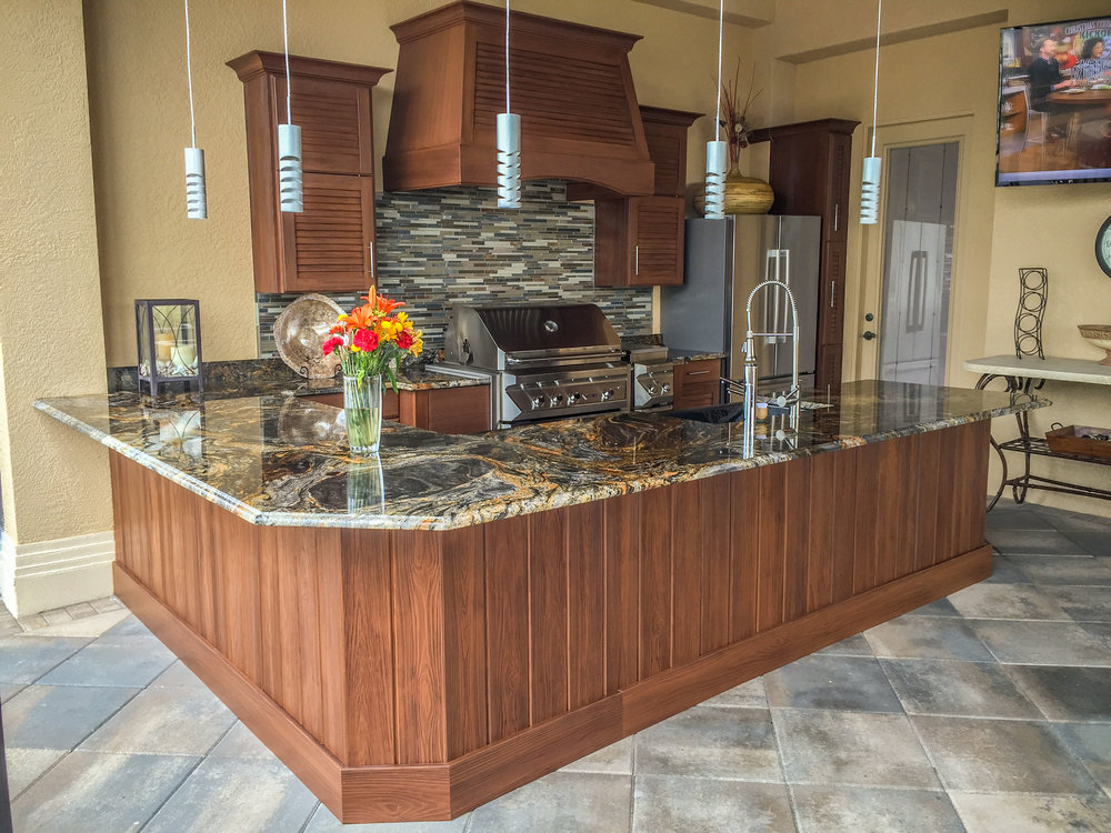 Outdoor Kitchens — Alpha Cabinetry & Design