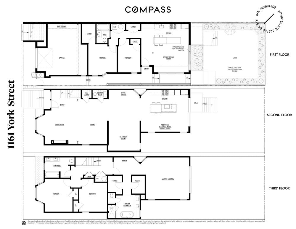 1161 York Floor Plans