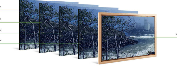 Floater Frames for Photo Art Prints — AlteredFoto