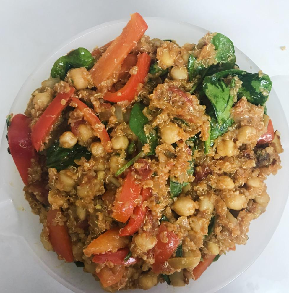 Indian Quinoa Stir Fry