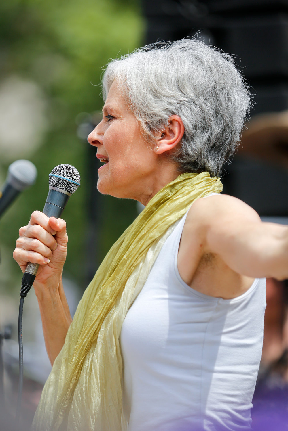 Jill Stein Speaking at 2016 DNC Demonstration