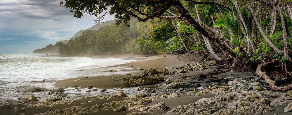 The Osa Peninsula - Taken in Corcovado National Park - Photo by Ben Blankenship, 2018