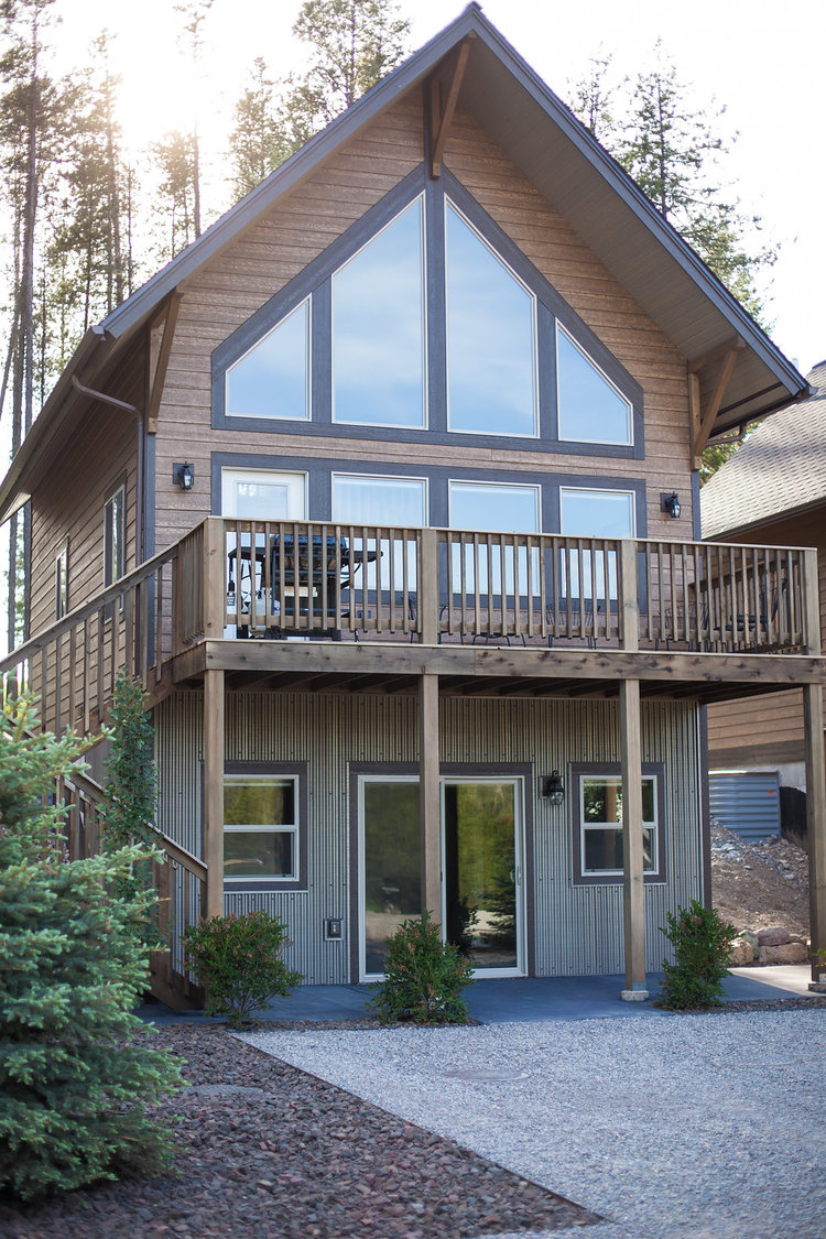 Canadian chalet -