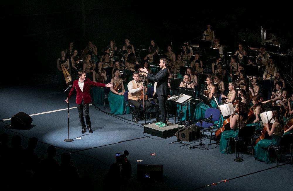 Cross Border Orchestra of Ireland Peace Proms Tour