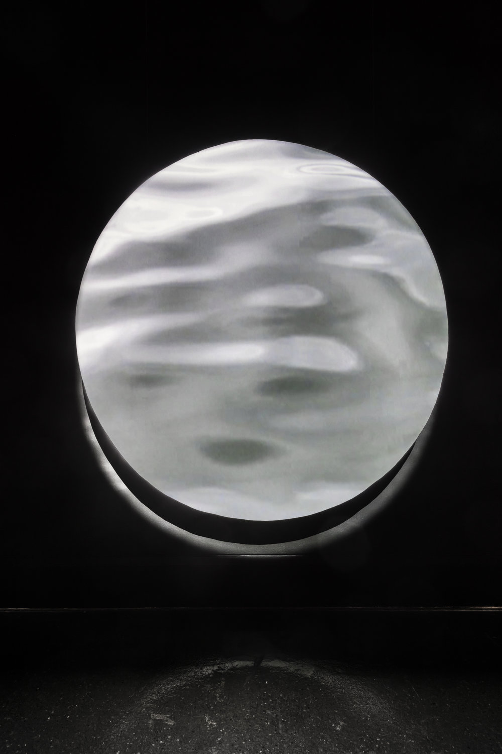 Eclipse , XIT-RM, Art Gallery of Mississauga. Photo by Toni Hafkenscheid.