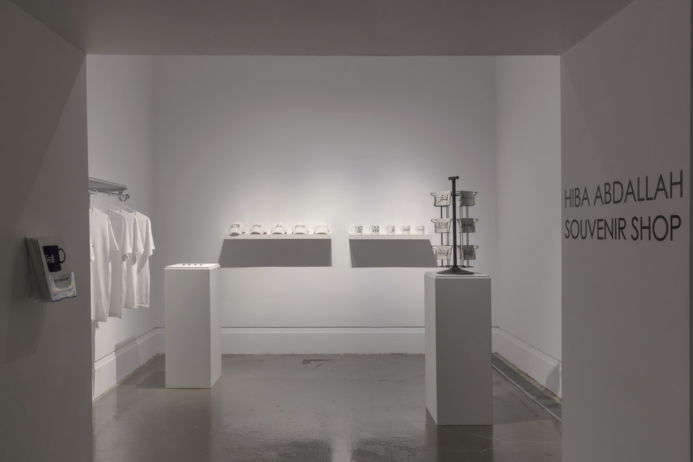 Souvenir Shop , XIT-RM, Art Gallery of Mississauga. Photo by Toni Hafkenscheid.
