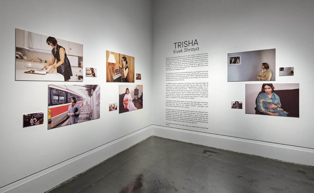 Trisha , XIT-RM, Art Gallery of Mississauga. Photo by Toni Hafkenscheid