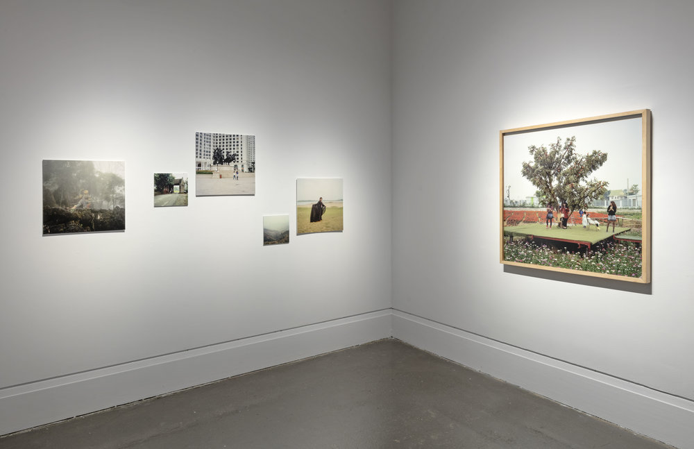 Somewhere Else , XIT-RM, Art Gallery of Mississauga. Photo by Toni Hafkenscheid.