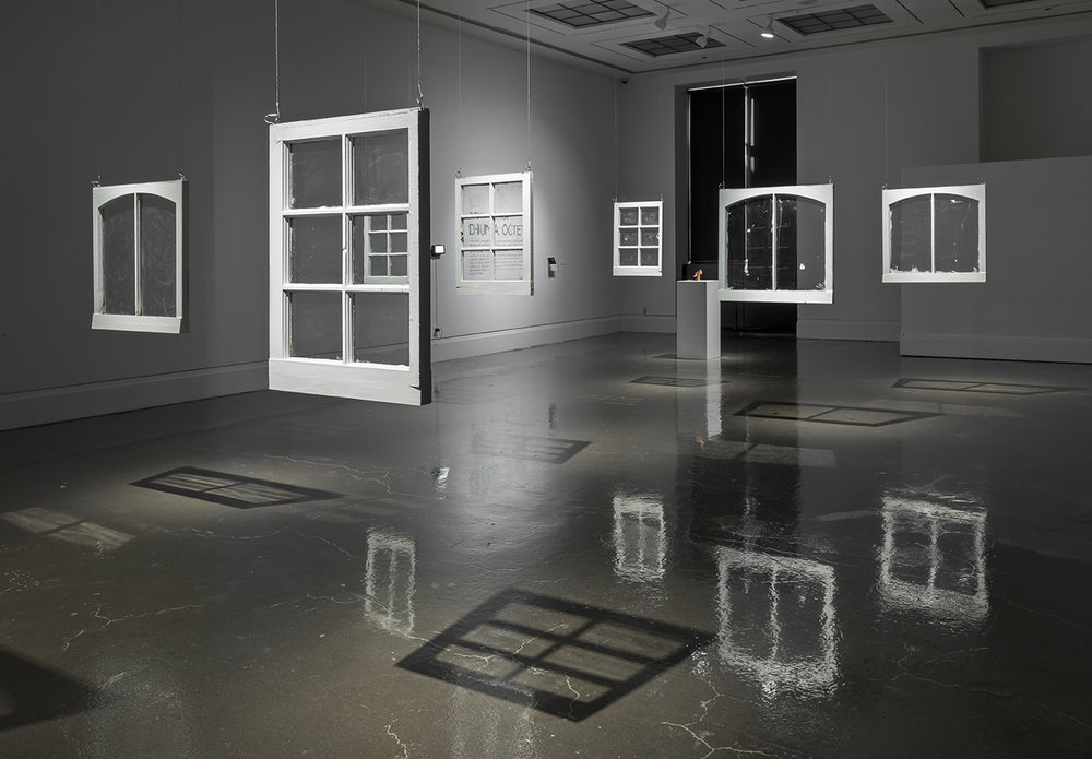 Dhunia:Octet,  Main Gallery, Art Gallery of Mississauga. Photo by Toni Hafkenscheid.